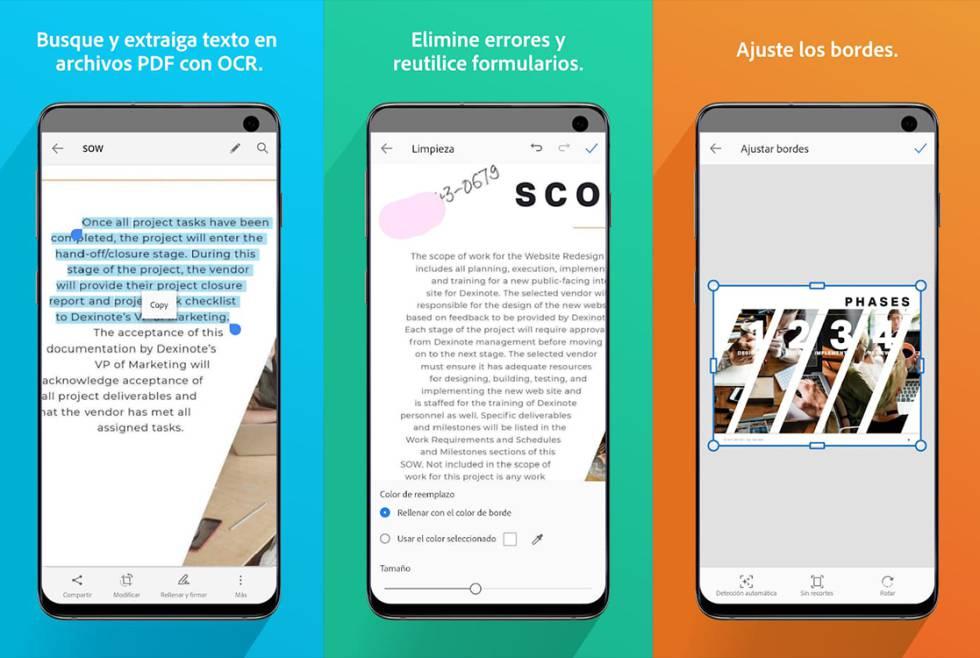 ¿Cuál es la mejor App para escanear documentos?