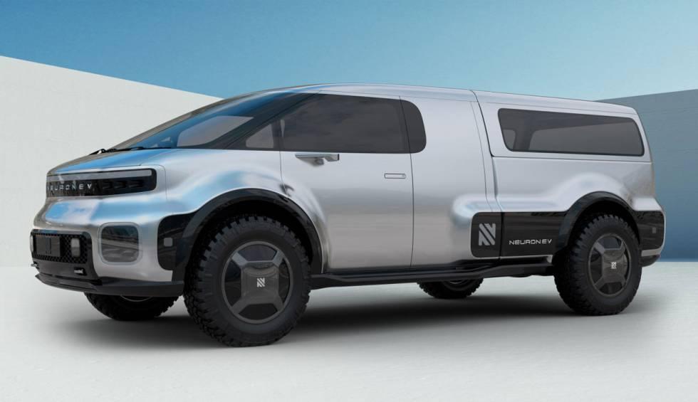 Neuron EV, la pickup que competirá con la Cybertruck con un mejor diseño