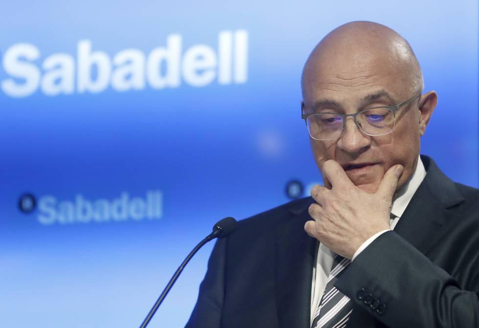 Josep Oliu, president of Banco Sabadell