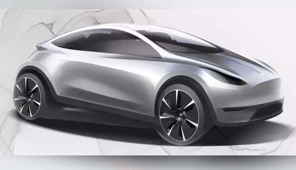¿Es este el nuevo utilitario eléctrico que está desarrollando Tesla en China?