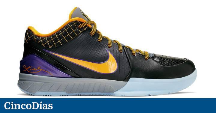 Preservativo comer Observatorio  Nike agota el 'merchandising' de Kobe Bryant | Fortuna | Cinco Días