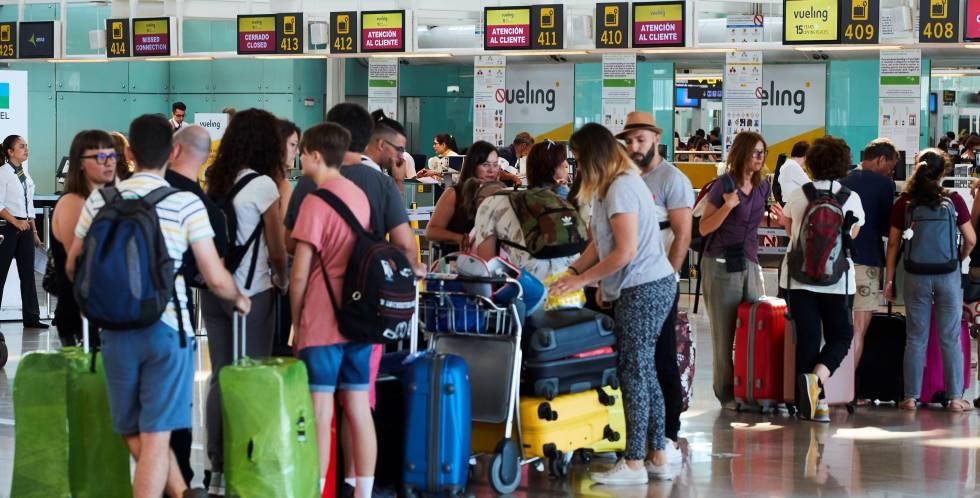 escucho música Arrugas Cambios de  Vueling, Ryanair, Iberia y Air Europa, las más reclamadas por los pasajeros    Fortuna   Cinco Días