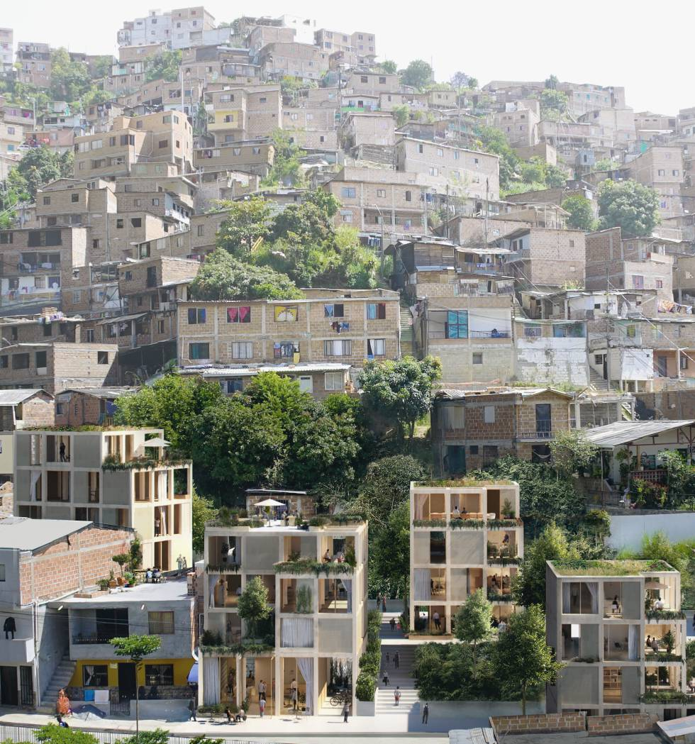 Propuesta de viviendas modulares en Medellín (Colombia)