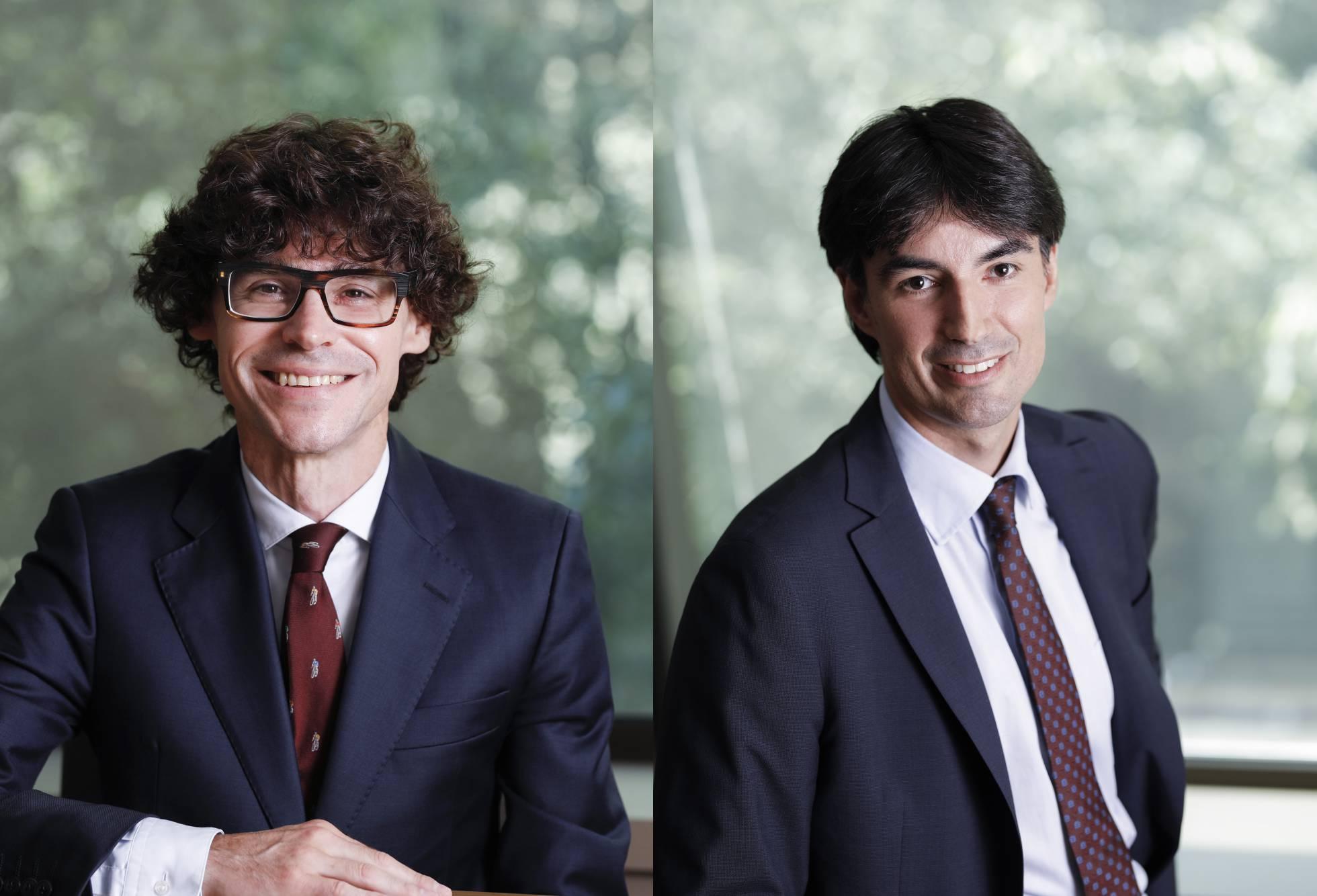 Roca Junyent promociona a Enric Moret y Roger Pla como nuevos socios