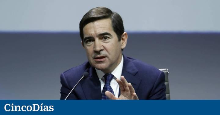 Carlos Torres y el equipo directivo de BBVA renuncian al bonus de 2020 | Compañías | Cinco Días