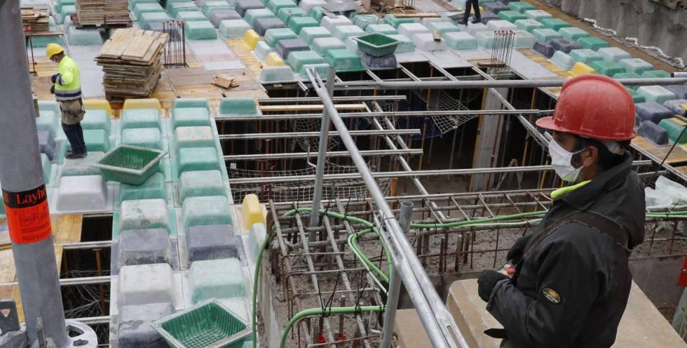 La industria de materiales de obra traza un plan para amortiguar un golpe de 19.000 millones