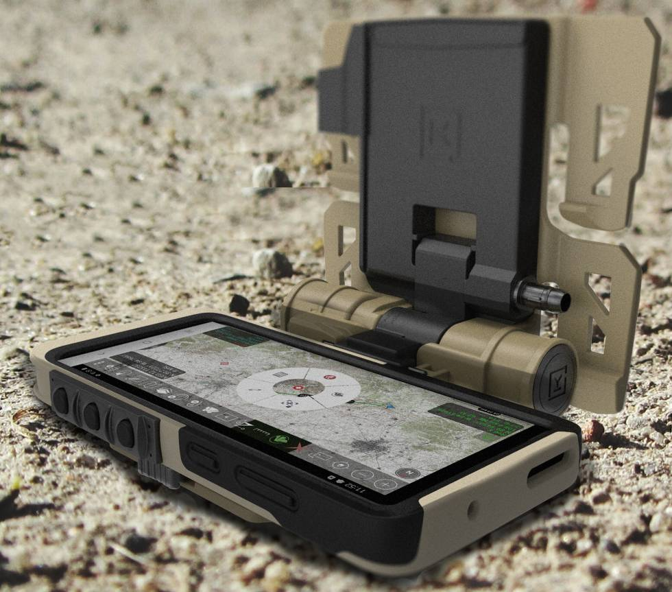 Samsung Galaxy S20 Tactical Edition.