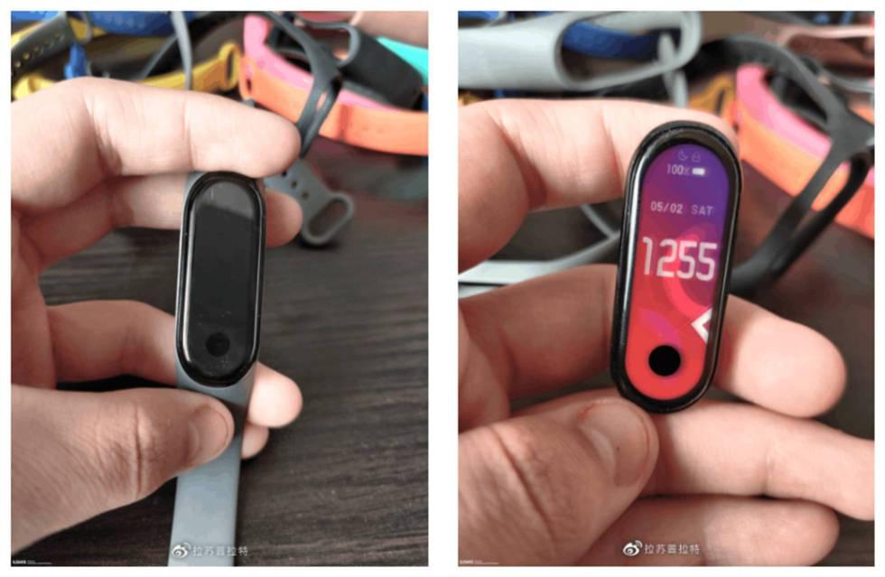 Fotos filtradas de la Xiaomi Mi Band 5.