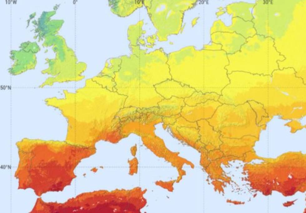 Niveles de irradiación europeos.