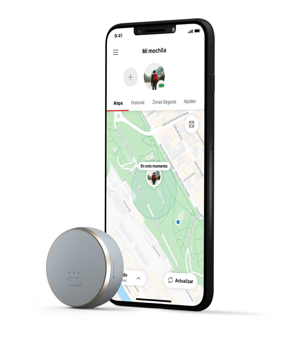 Vodafone Curve se vigila desde la app oficial del móvil.