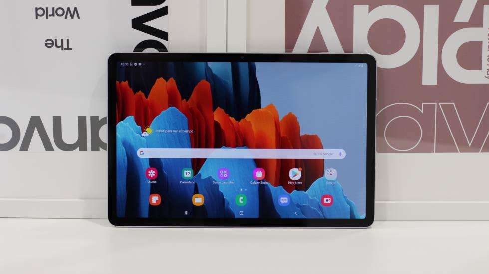 Nuevo Samsung Galaxy Tab S7+.