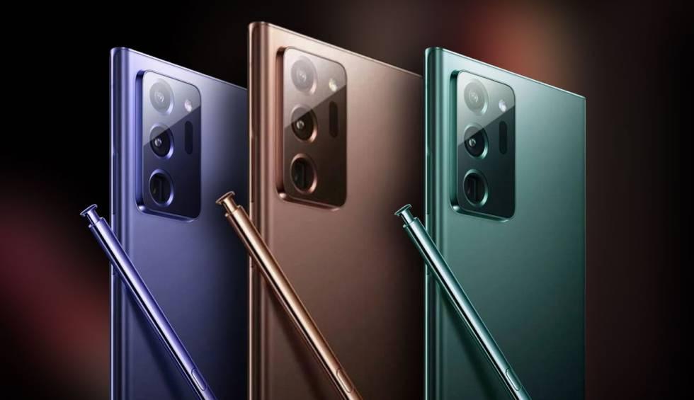 Los Galaxy Note 20 y Note 20 Ultra son oficiales: precios, hardware y fecha de lanzamiento | Smartphones | Cinco Días
