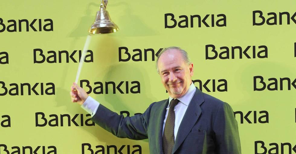 Rodrigo Rato, ex presidente de Bankia
