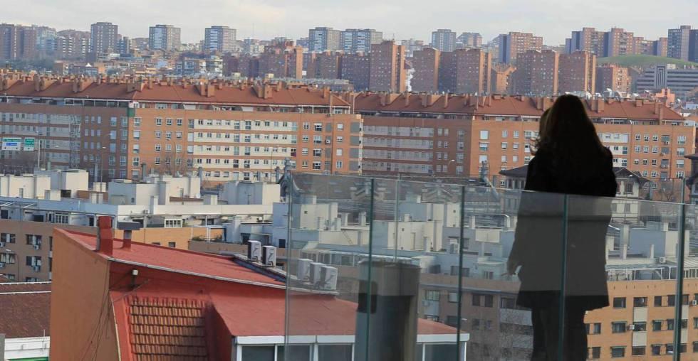 Viviendas en Madrid, en una imagen de archivo.