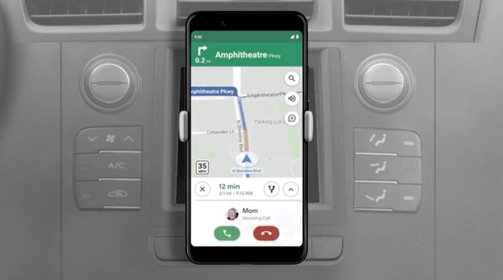Llamadas dentro de Google Maps.