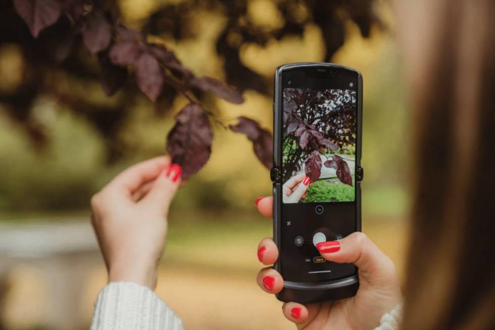 Nueva 'app' de cámara de Motorola.