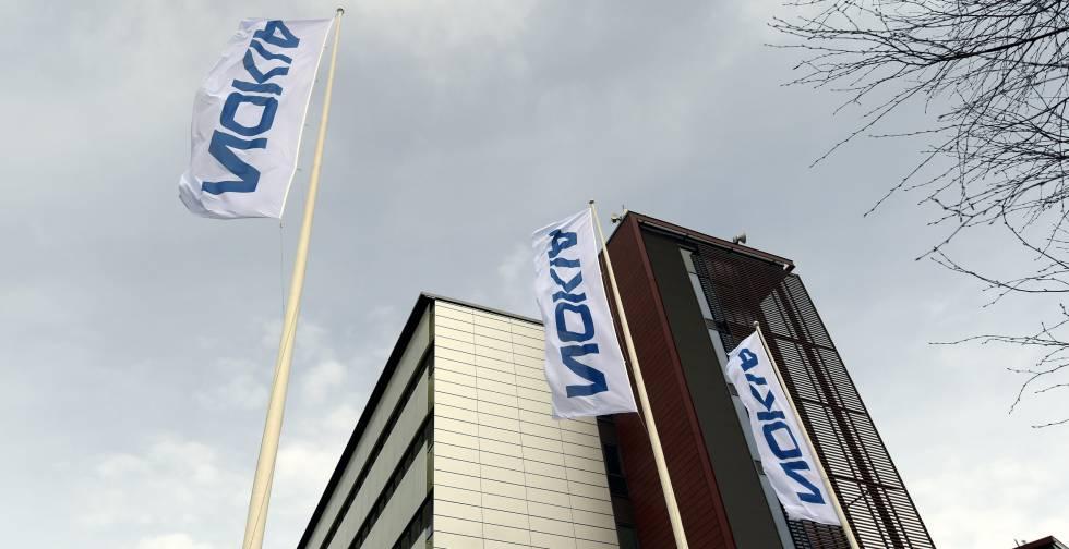 Sede de Nokia en Espoo, Finlandia.