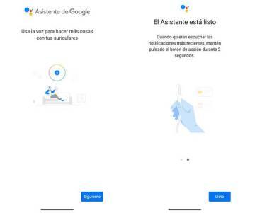 Así de sencillo es utilizar el asistente de Google con tus auriculares de cable