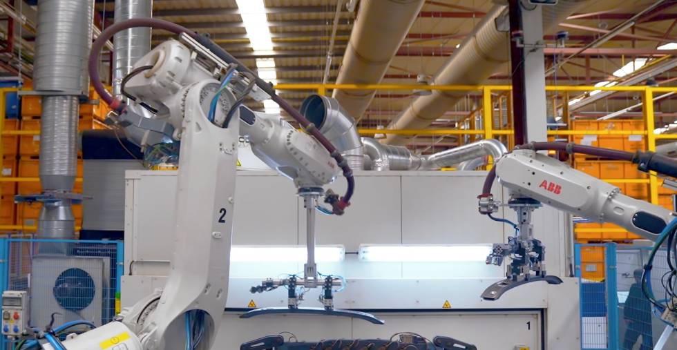 Digitalización de fábrica de Gestamp con la 4G de Telefónica