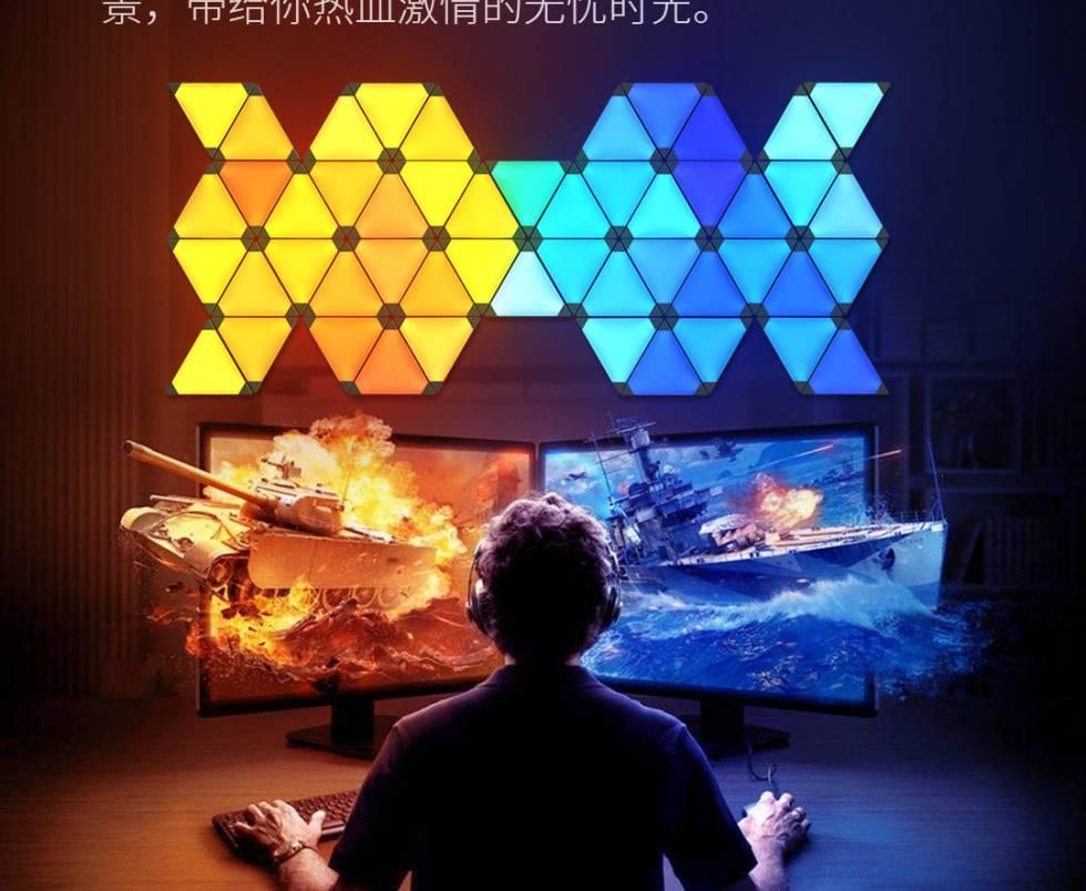 Este panel de Xiaomi que transforma el sonido en luz en movimiento te sorprenderá