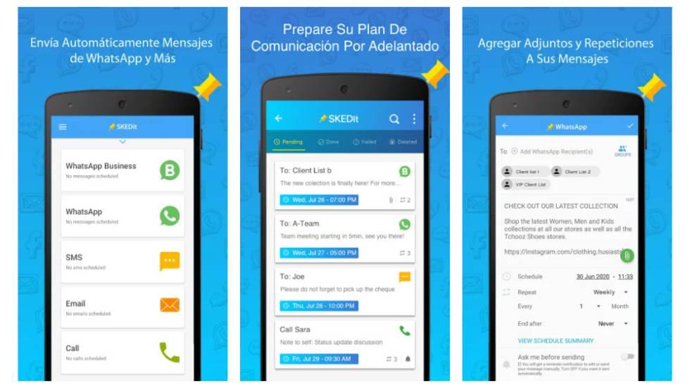 Cómo programar el envío de mensajes de WhatsApp para felicitar el Año Nuevo