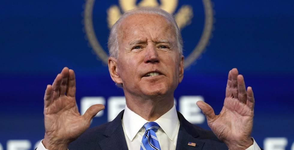 Biden anuncia un plan de ayudas urgentes para inyectar 1,5 billones en la  economía | Economía | Cinco Días