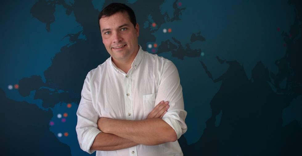 David Barroso, CEO y cofundador de CounterCraft.