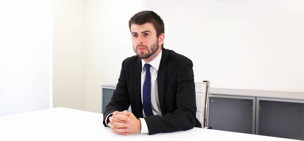 Jesús Vidán, lawyer in the labor area of LABE Abogados.