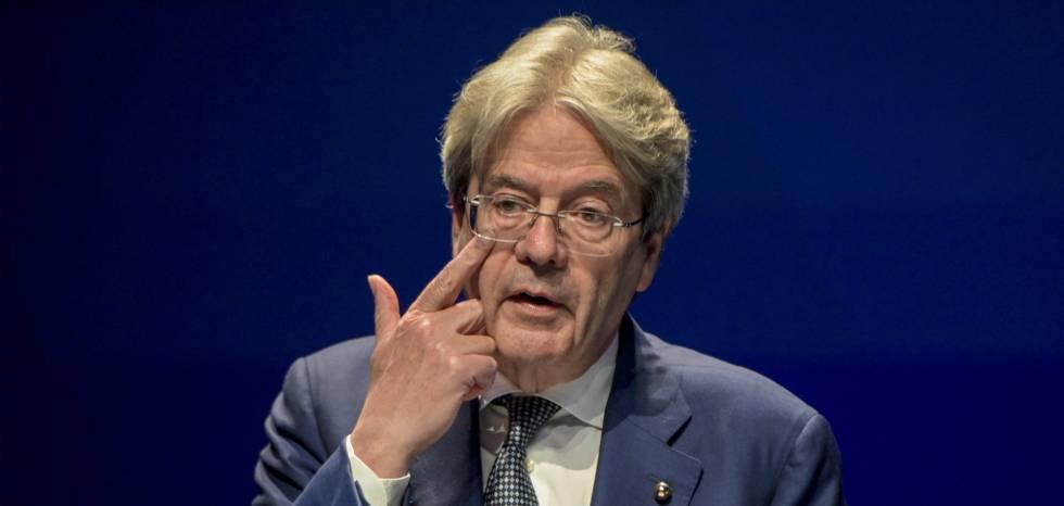 El comisario de Economía, Paolo Gentiloni.
