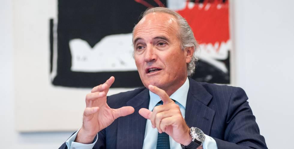 El presidente de Seopan, Julián Núñez.