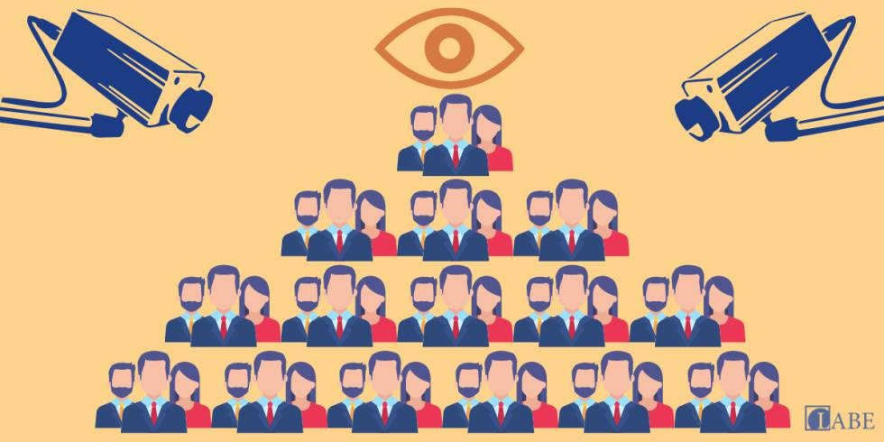 Panoptic companies, the Big Brother who stalks workers