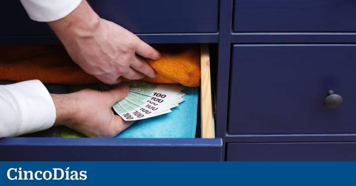 Guardar el dinero en casa: legal sí, pero no seguro