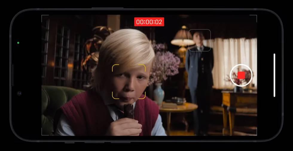 Nuevo modo cinematográfico de los iPhone 13.