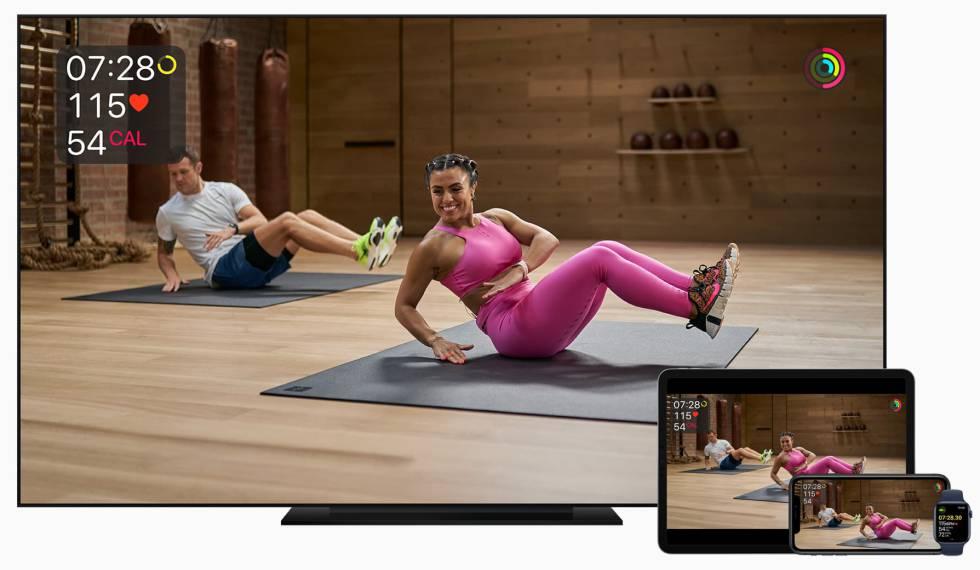 Apple Fitness+ llega a España.