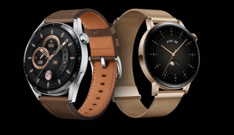 Huawei Watch GT 3: pantalla AMOLED, HarmonyOS y gran autonomía para batir al Apple Watch